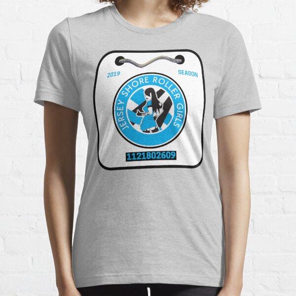 Jersey Shore Roller Girls Beach Badge Essential T-Shirt