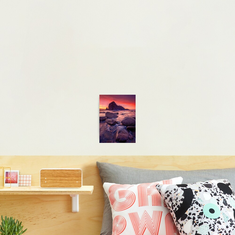 Sugarloaf Rock Sunset Photographic Print