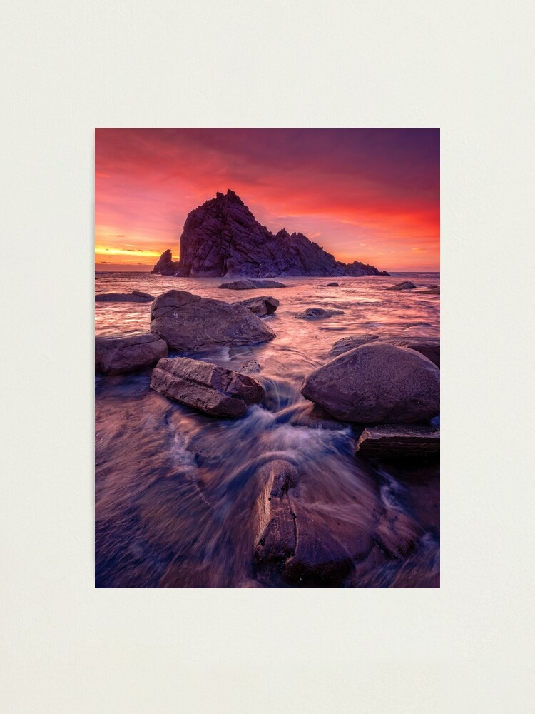 Alternate view of Sugarloaf Rock Sunset Photographic Print