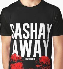 Sashay Away schwarz Grafik T-Shirt