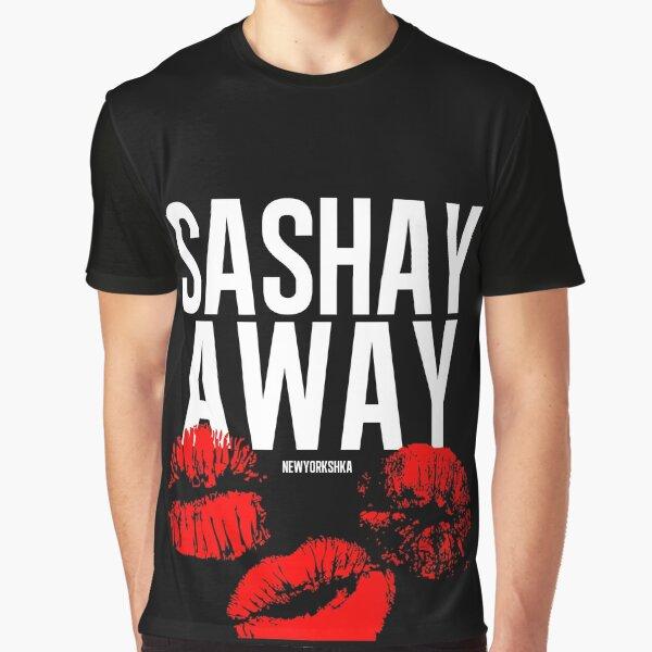Sashay Away black Graphic T-Shirt