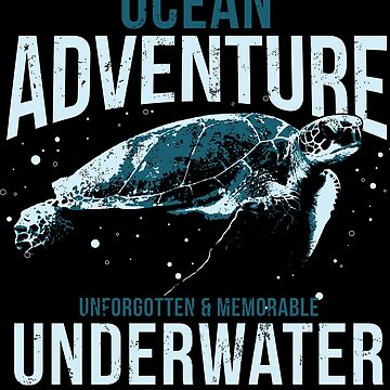OCEAN UNDERWATER ADVENTURE TURTLE by Super3