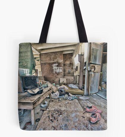 Salton City Abandoned Home Tote Bag