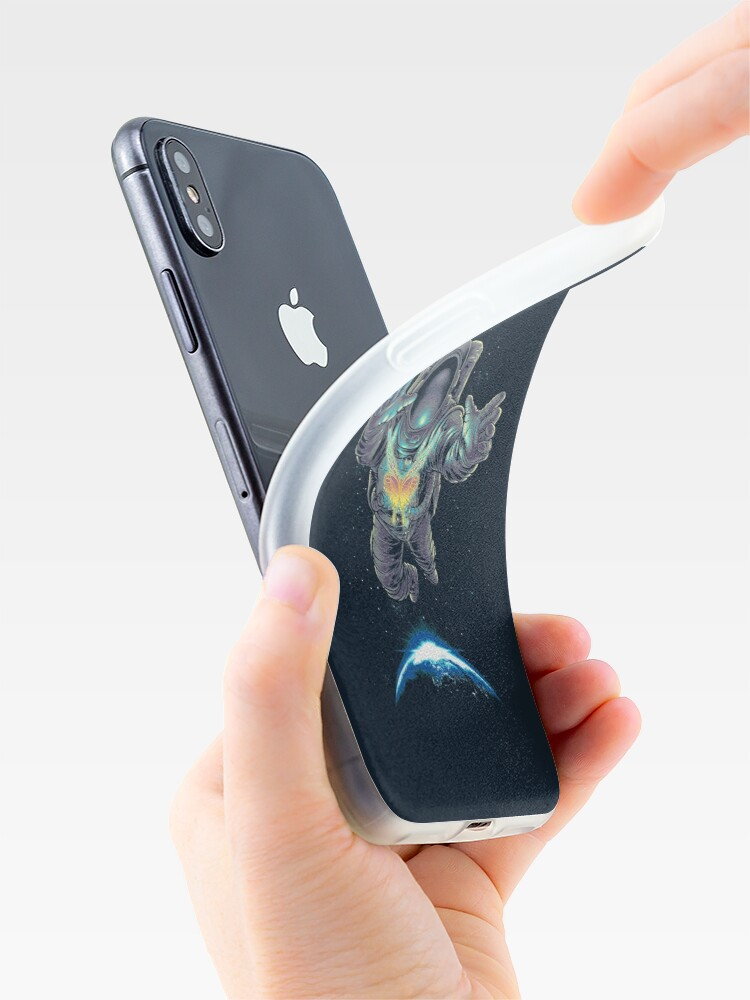 Alternate view of Butterflight iPhone Case & Cover