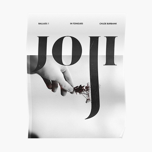 Joji - Discography Poster Poster