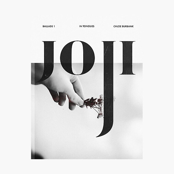 Joji - Discography Poster Photographic Print