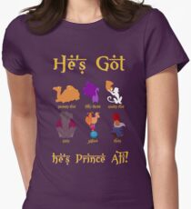 He's Got... Womens Fitted T-Shirt