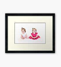 Unhappy Princesses Framed Print