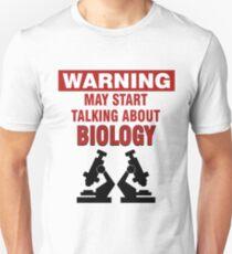 Biologie Bio Biologe Lehrer Wissenschaft Geschenk Slim Fit T-Shirt
