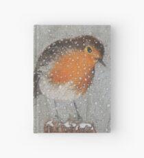 I Love Snow Hardcover Journal