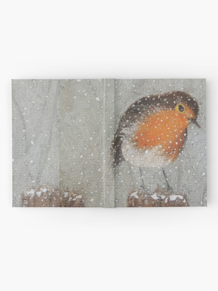 Alternate view of I Love Snow Hardcover Journal