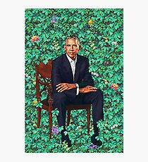 Obama Portrait Photographic Print