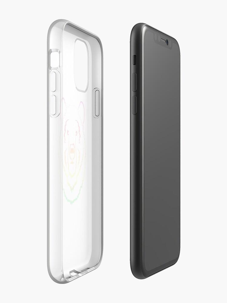 """artwizz hülle , """"Regenbogenbär"""" iPhone-Hülle & Cover von lowkeyjy"""