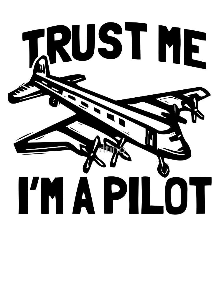 Trust me mon père est un plan de vol pilote Drôle Enfants T-shirt 12-13 ans à 1-2