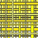 Yellow Grid by JohannaDesign
