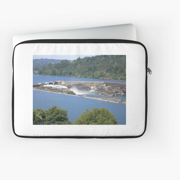 Falls at Oregon City, OR Laptop Sleeve