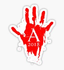 2018 Blood Soaker Sticker