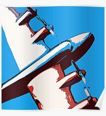 Bullet Plane Poster