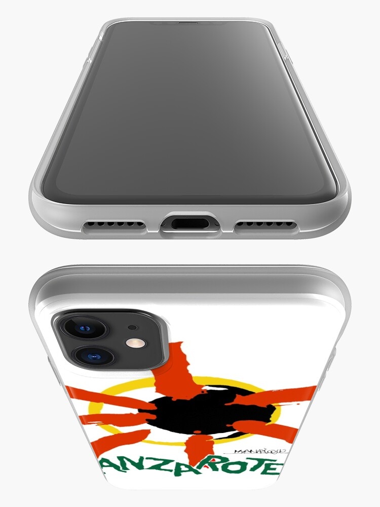 Alternate view of Lanzarote - Large Logo iPhone Case & Cover