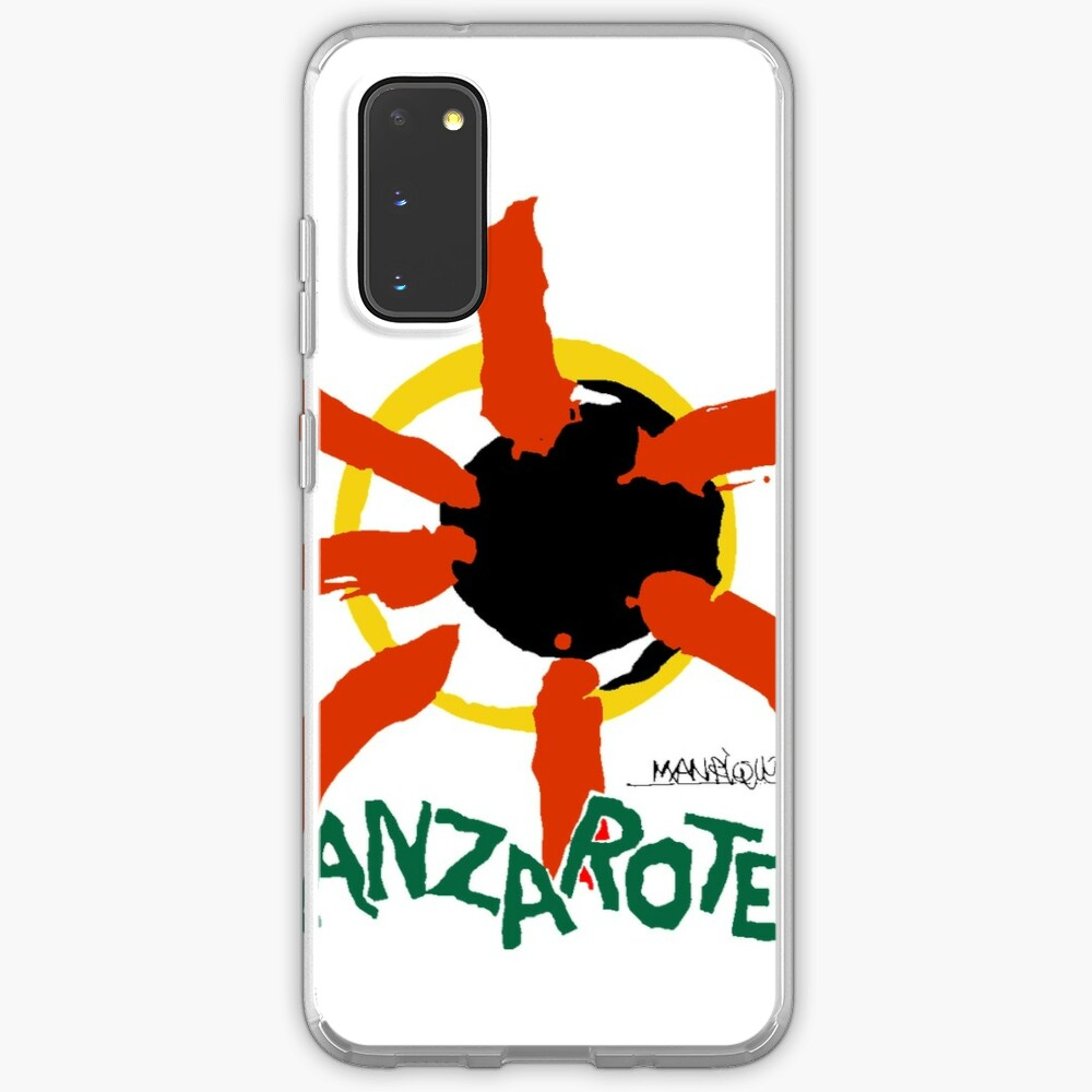Lanzarote - Large Logo Case & Skin for Samsung Galaxy