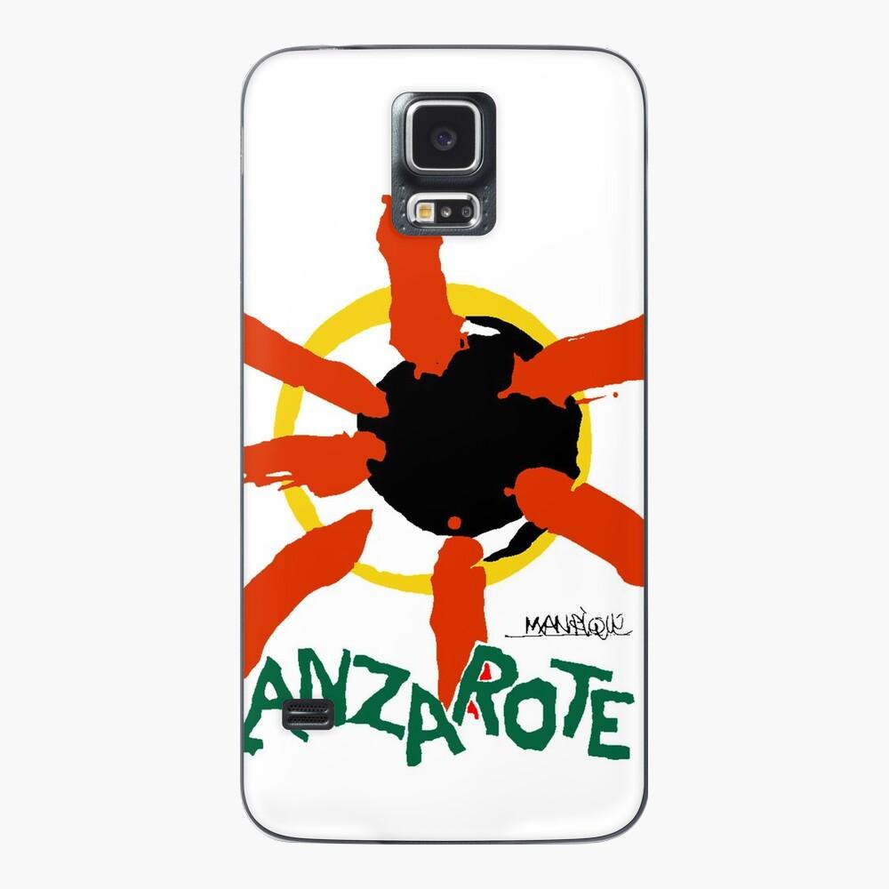 Lanzarote - Large Logo Case & Skin for Samsung Galaxy