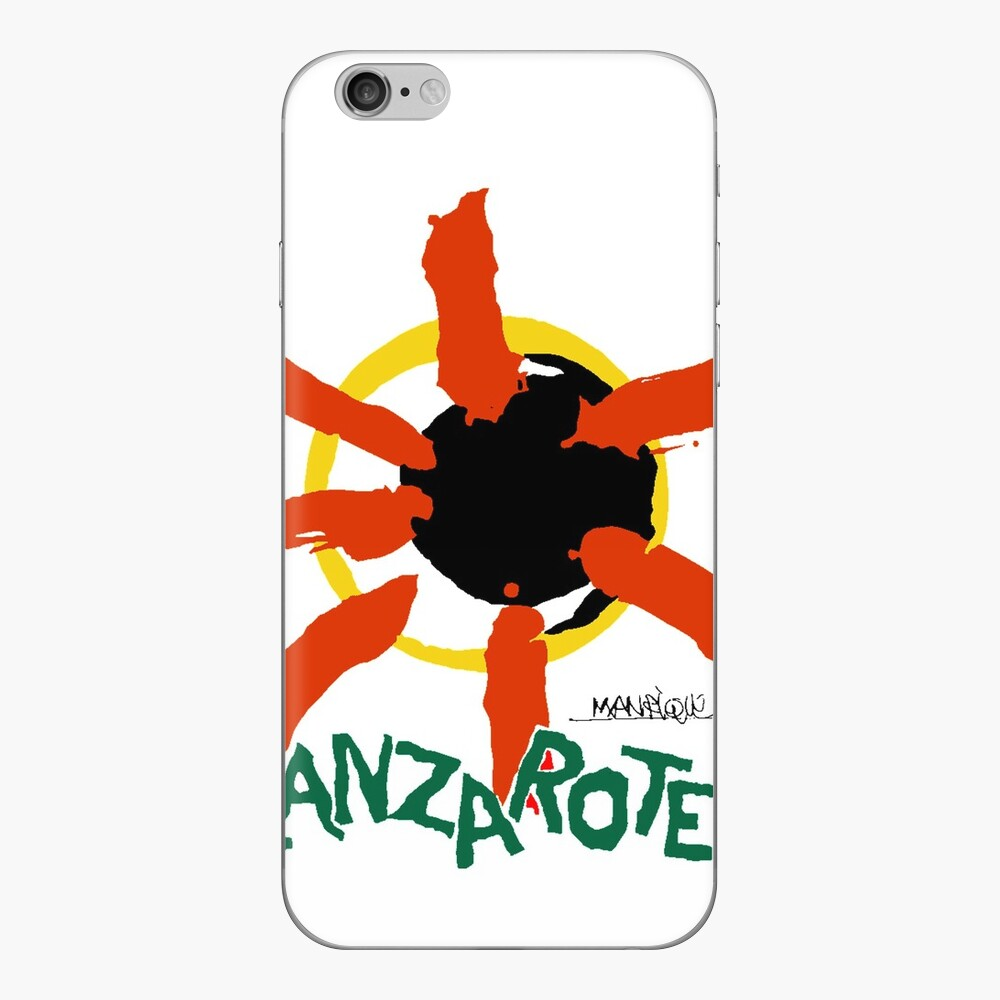 Lanzarote - Large Logo iPhone Skin