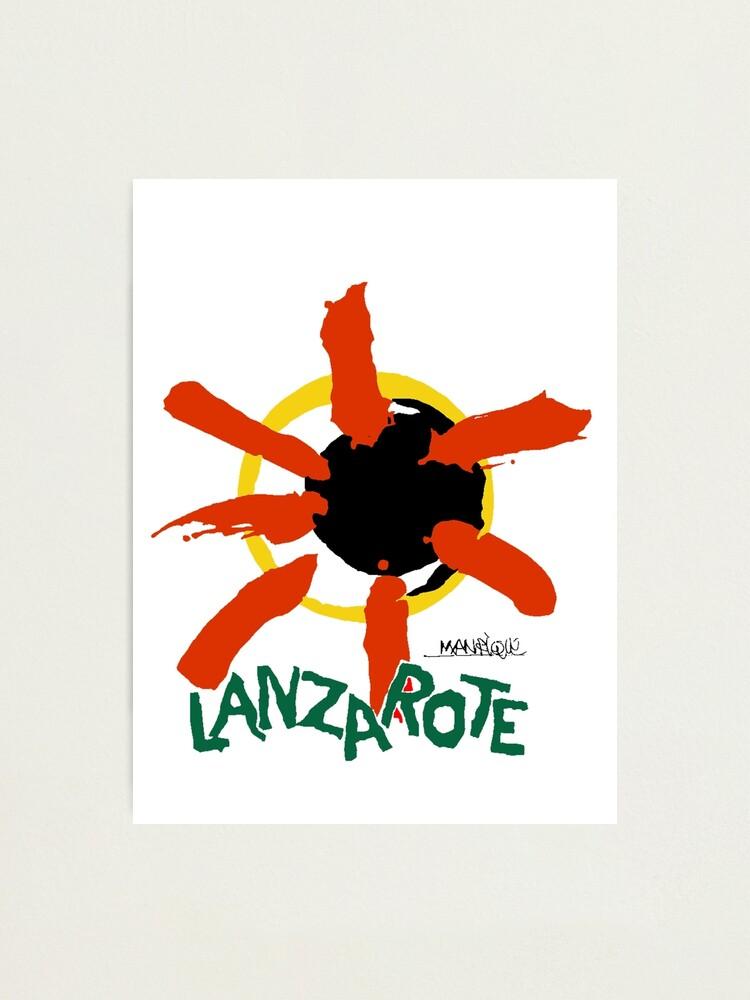 Alternate view of Lanzarote - Large Logo Photographic Print