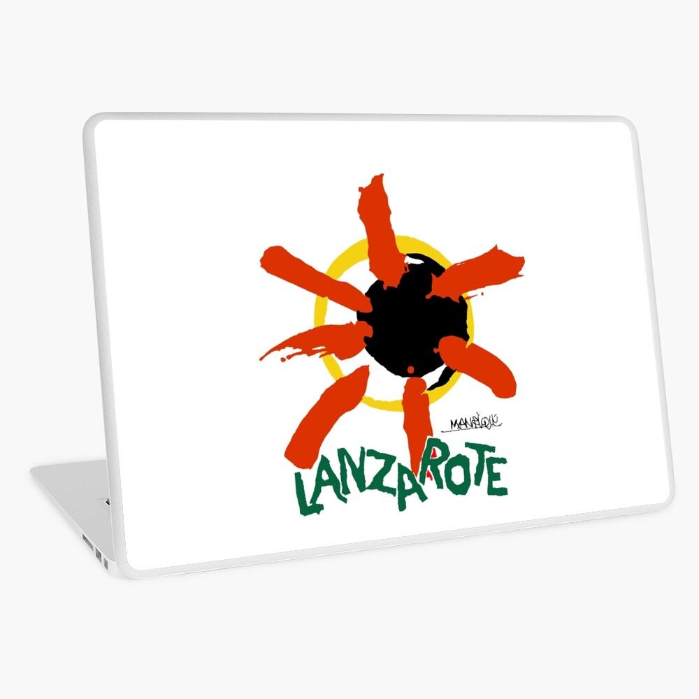 Lanzarote - Large Logo Laptop Skin