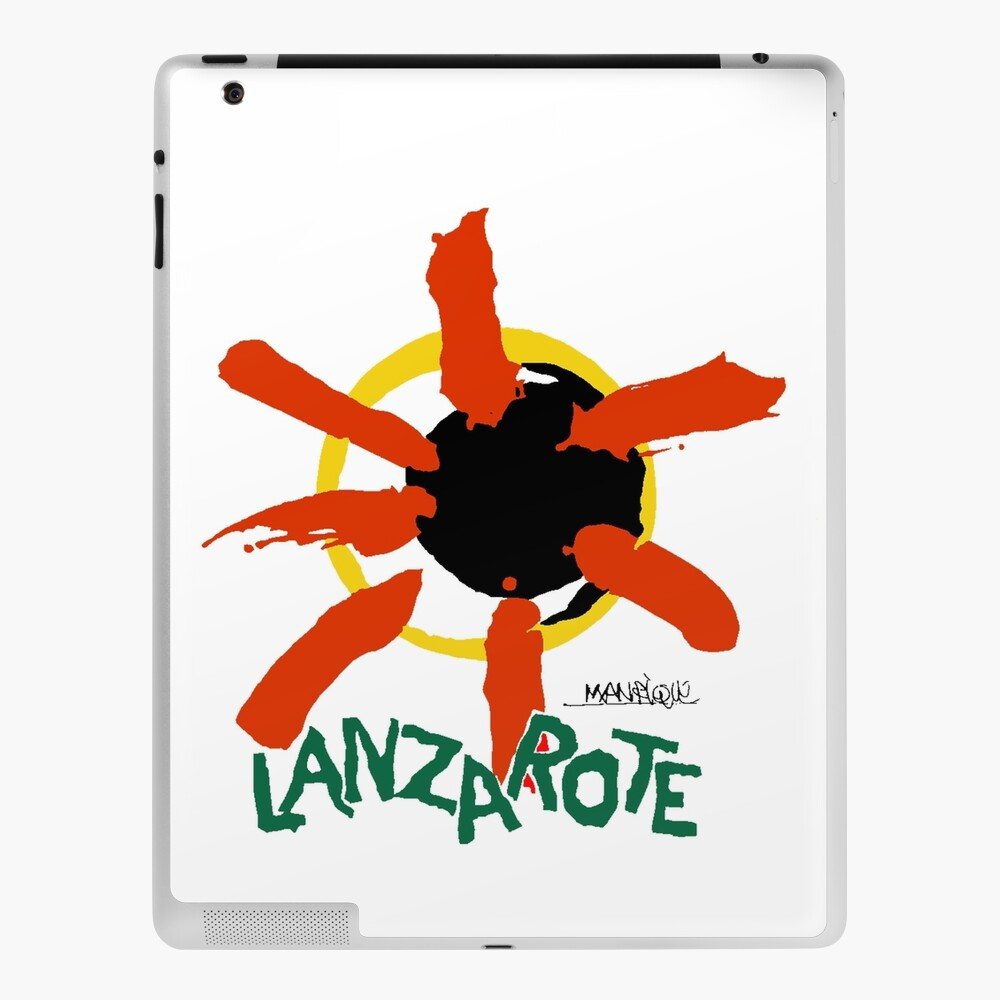 Lanzarote - Large Logo iPad Case & Skin
