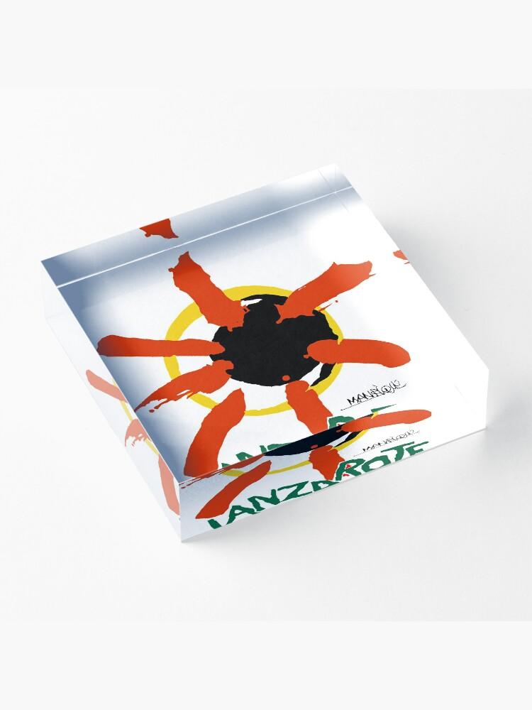Alternate view of Lanzarote - Large Logo Acrylic Block