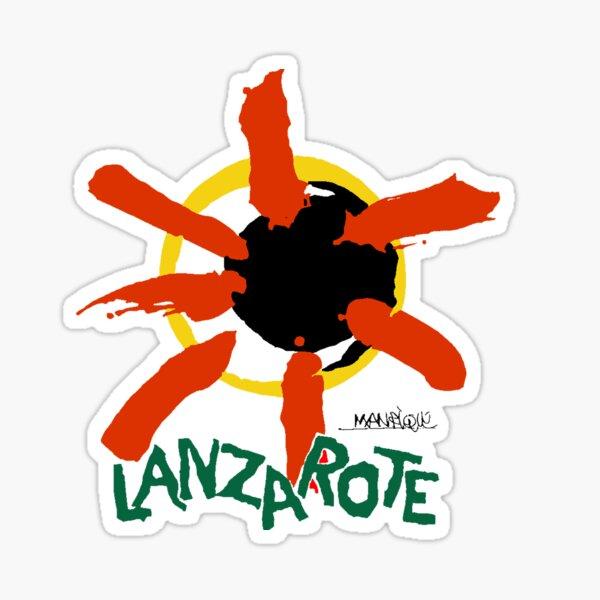 Lanzarote - Logotipo grande Pegatina