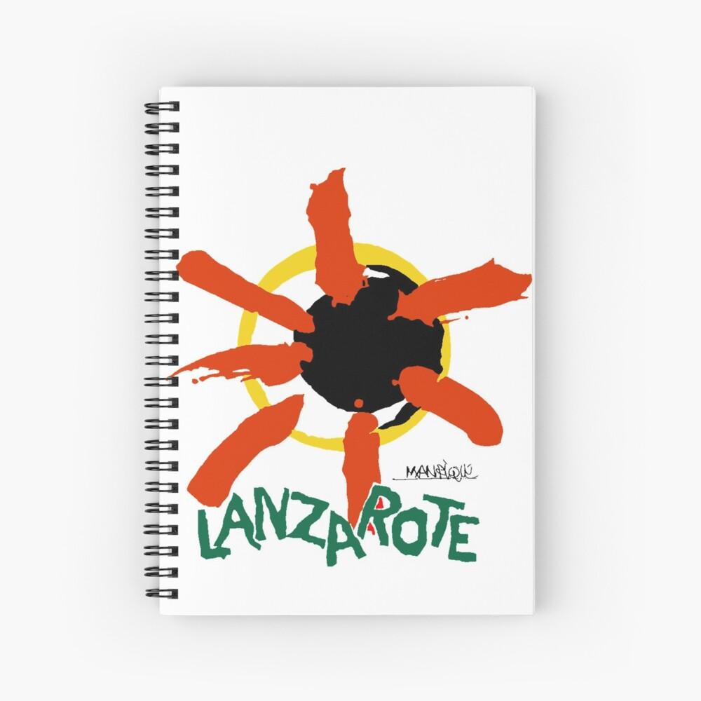 Lanzarote - Large Logo Spiral Notebook