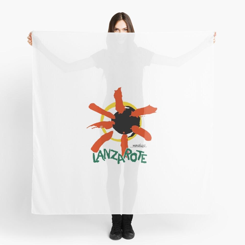 Lanzarote - Large Logo Scarf