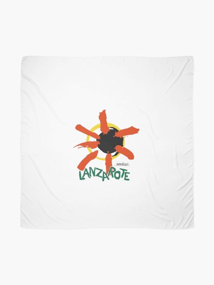 Alternate view of Lanzarote - Large Logo Scarf