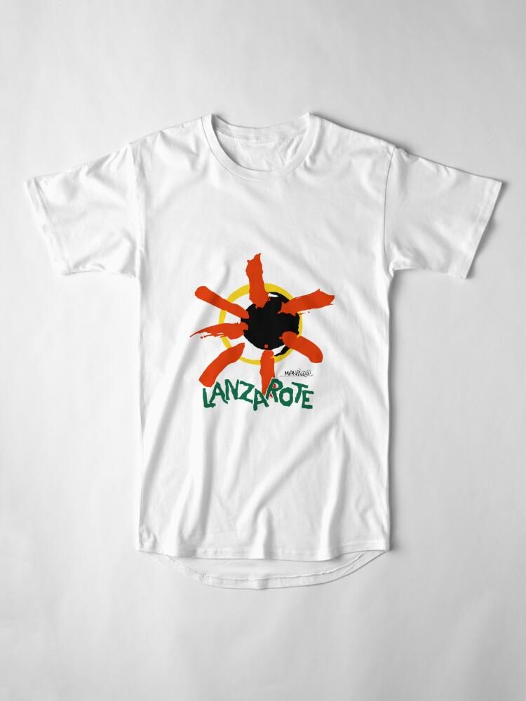 Alternate view of Lanzarote - Large Logo Long T-Shirt
