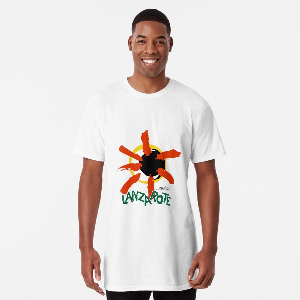Lanzarote - Large Logo Long T-Shirt