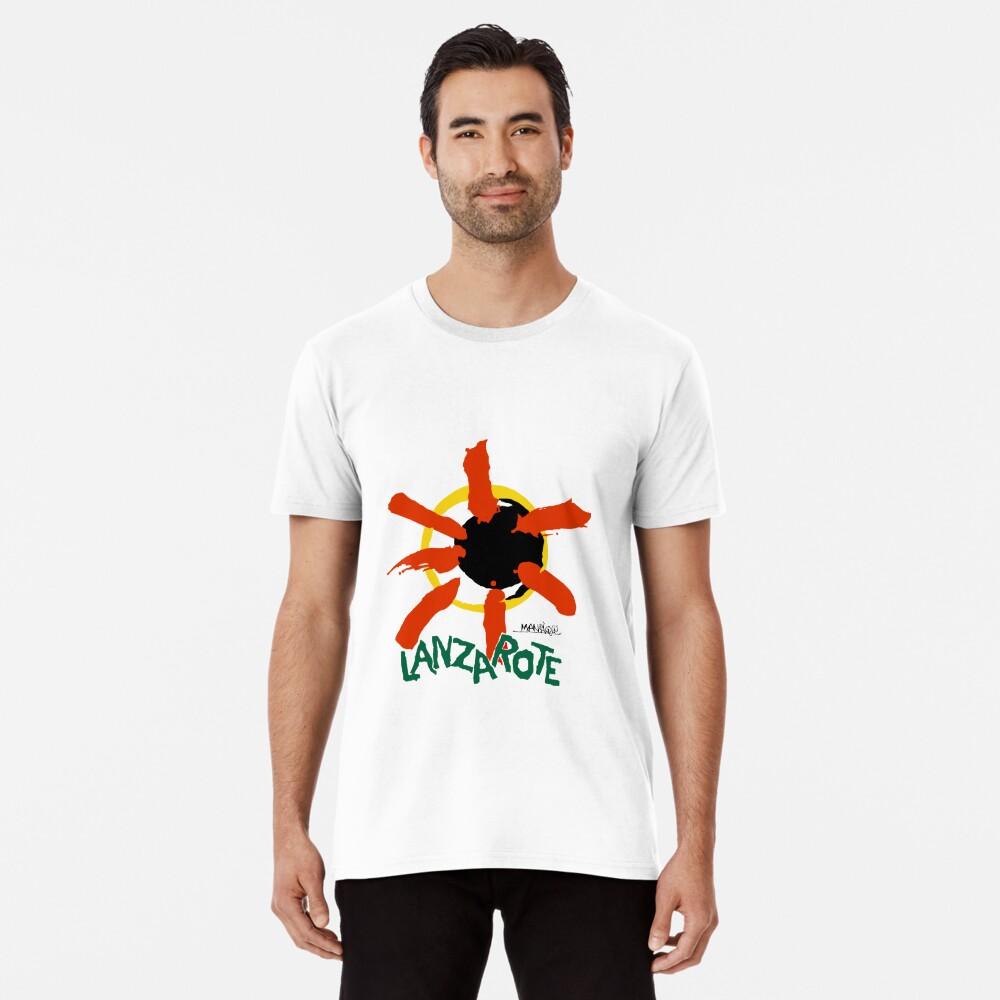 Lanzarote - Large Logo Premium T-Shirt