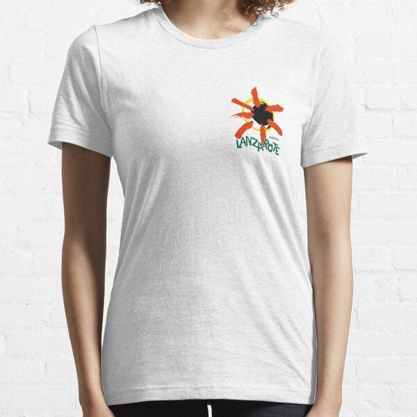 Lanzarote - Small Logo Essential T-Shirt