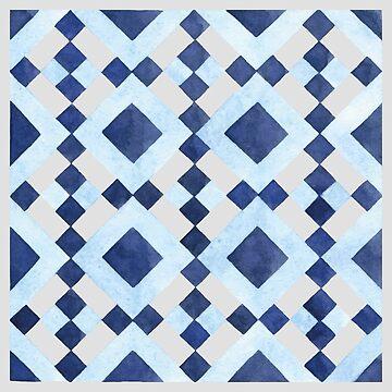 Colourful Geometric Pattern by broadmeadow