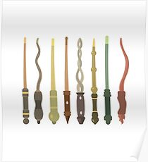 Premium Quality Wands Poster