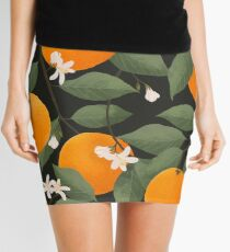 fresh citrus // dark Mini Skirt