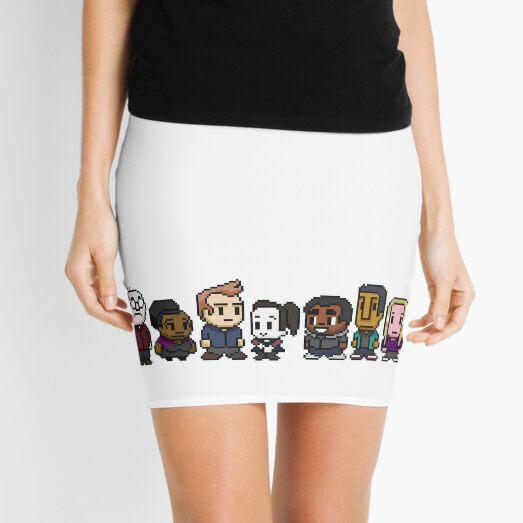 Community Tee Mini Skirt