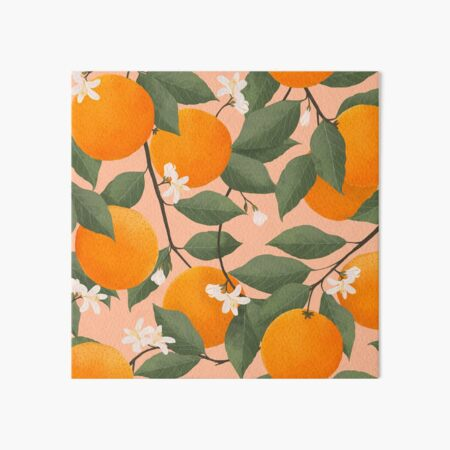 fresh citrus Art Board Print