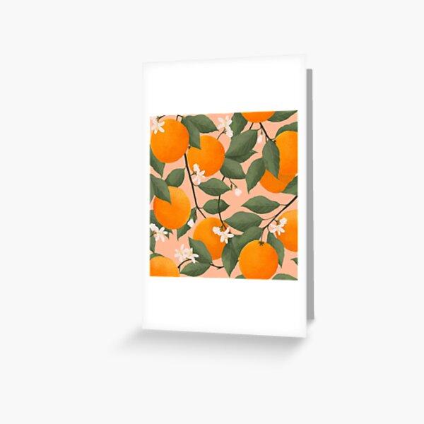 fresh citrus Greeting Card