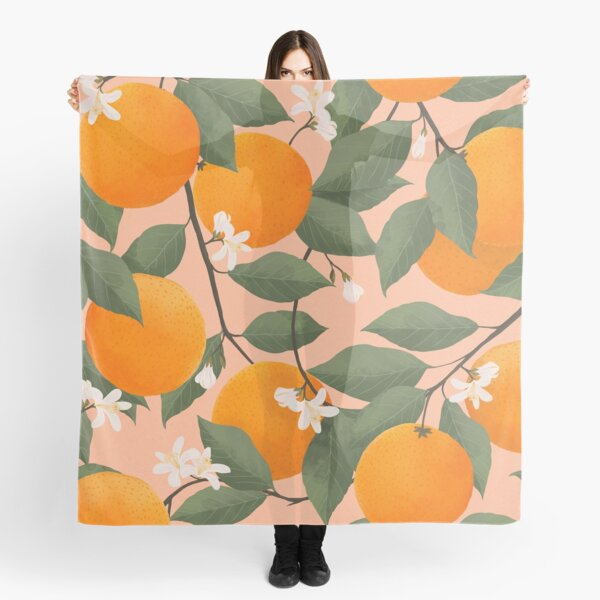 fresh citrus Scarf