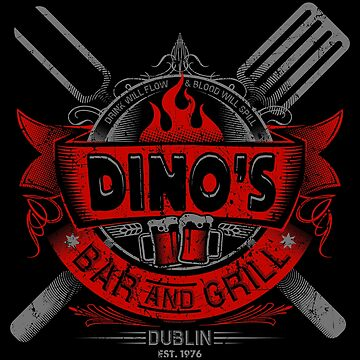 DINO'S BAR AND GRILL by trev4000