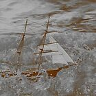 Mary Celeste - Crewless, Fights on Through the Raging Seas by Dennis Melling