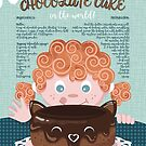The best chocolate cake recipe // orange hair sweet little girl by SelmaCardoso
