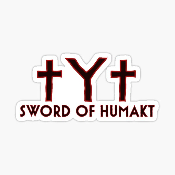 Sword of Humakt Sticker