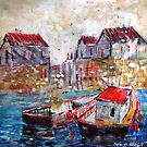 Boats in the Harbour by Ballet Dance-Artist